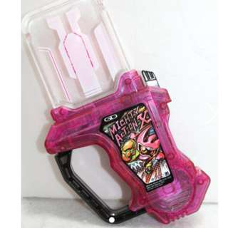 Kamen Rider Ex-Aid SG Miracle Box Mighty Action X Gashat Clear Limited Ver. Masked