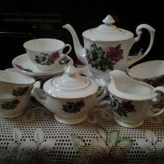 Teapot Set Bunga Kangkung(nos item)