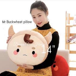 Mr Buckwheat / Goblin Pillow