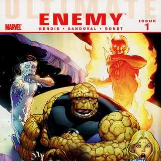 Ultimate Enemy #1-4