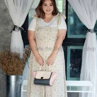 Set overall and top plus size