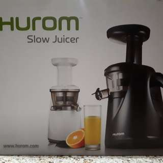 HUROM Slow Juicer HA-Series