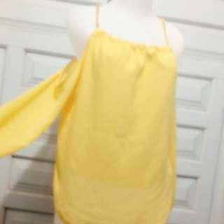 Sabrina yellow net