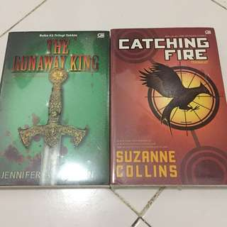 Catching Fire and The Runaway King