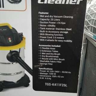 Vacuum cleaner wet/dry 25L