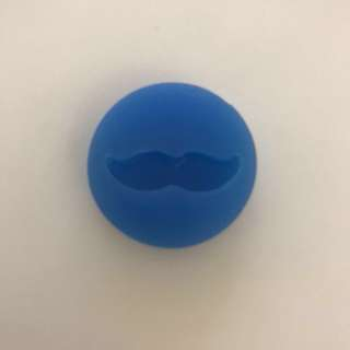 mustache flexible mold