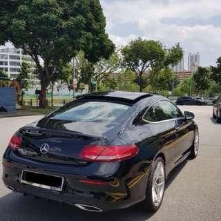 Mercedes-Benz C200 Coupe Auto AMG Line