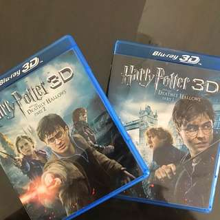 Harry Potter 3D Blu Ray