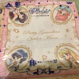 Sailormoon 美少女戰士 一番賞 H賞 25cm 方巾