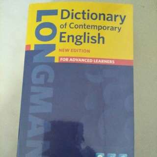 Longman dictionary. New edition