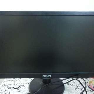 Monitor LED Philips 193V 18.6inc