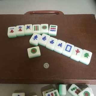旅行迷你麻雀套裝 (不是普通呎吋呀!)small size Mahjong