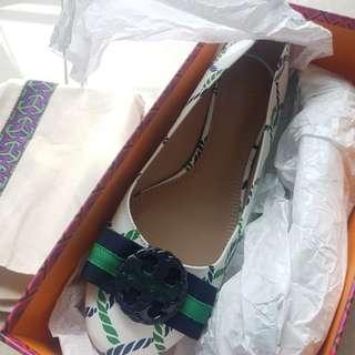 全新 Tory Burch ballet flat 平底鞋