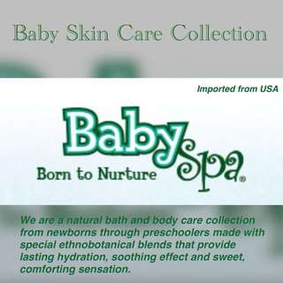 BabySpa 3-in-1 Tearless Shampoo, Body Wash and Moisturiser Stage 1 - Newborn