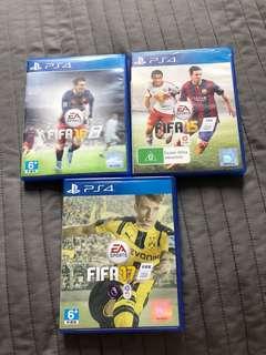 FIFA 15,16,17