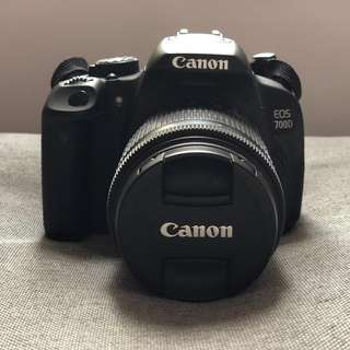 Canon EOS 700D Full set
