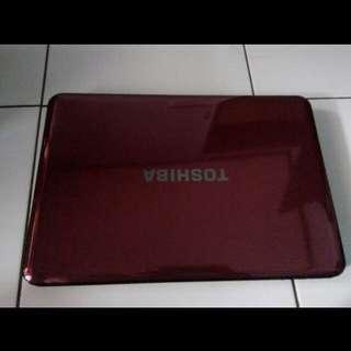 Laptop Toshiba Merah M840