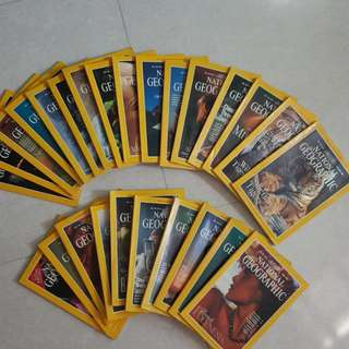 National Geographic for sale