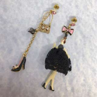 Brand New Betsy Johnson Earrings