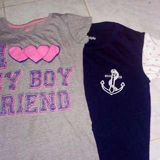Bundle 2: 2 Shirts For 120 Pesos 💕