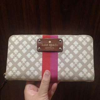 Kate Spade Classic Canvas Wallet