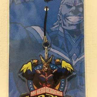 My Hero Academia Cell Phone Charm Acrylic Strap All Might