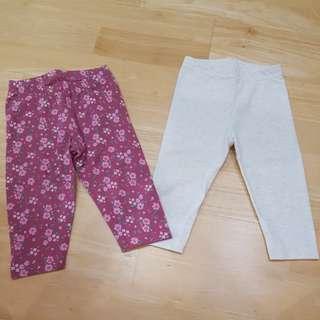 2x Early Days Leggings (6-9 mths)
