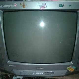 """Tv sharp tabung 21"""""""