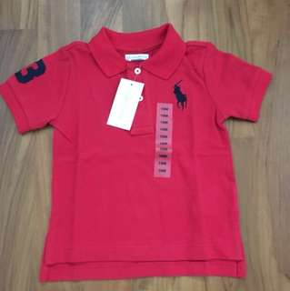 Polo Ralph Lauren Red Polo 18months