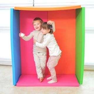 BNIB Foldaway Bumper Mat / Playmat/ Bumper Bed Wide Rose Garden
