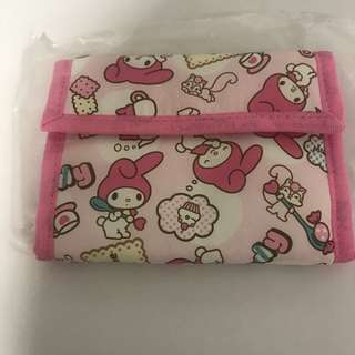 my melody trifold wallet