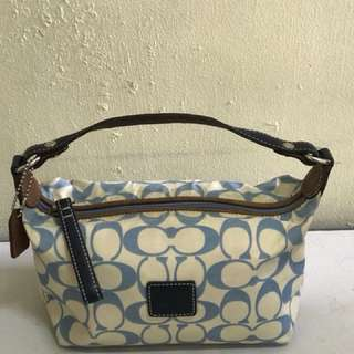Authentic Coach make up pouch