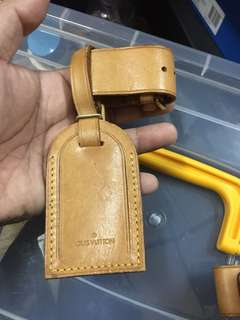 CNY SALE! Authentic Louis Vuitton Luggage Tag