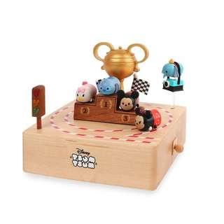 迪士尼 Disney / TSUM滋姆賽車木質旋轉音樂盒 / D212