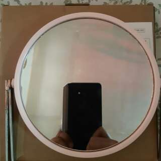 Two-Faced Cosmetic Standing Mirror