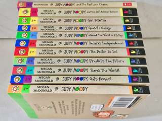 Judy Moody Collection (Book 1-11)