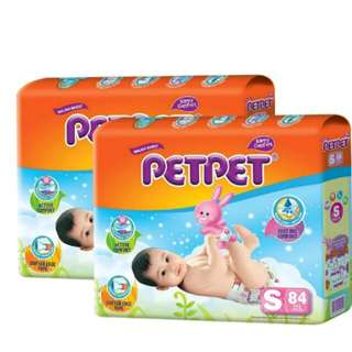 PETPET Diapers S84 (2packs)