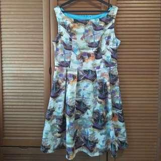 Abstract Dress (XL)