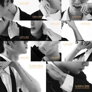 """WANNA ONE """"GOLDEN AGE"""" COMEBACK"""