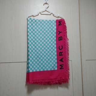 MARC BY MARC JACOBS Printed Wool Scarf