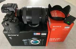 Sony a7ii and FE24-240mm E mount OSS lens