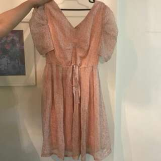 Pastel casual dress