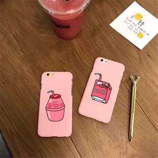 Strawberry & Peach | iPhone Case