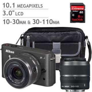 New Nikon J1 Full Set in Box