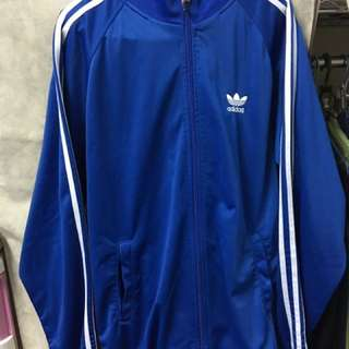 Adidas Originals 三葉草經典藍色外套