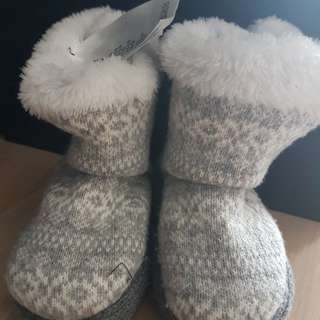 H&M baby prewalker winter boots