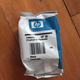 HP printer 黑色墨 cartridge