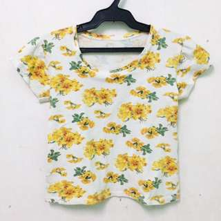 Flower Crop Top