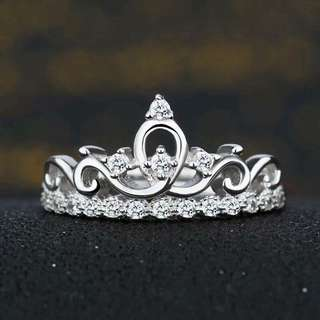 Adjustable Crown Ring