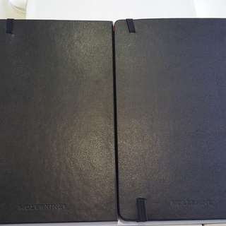 Pair of New Moleskine Limited Edition journals : Star Alliance and Airport versions